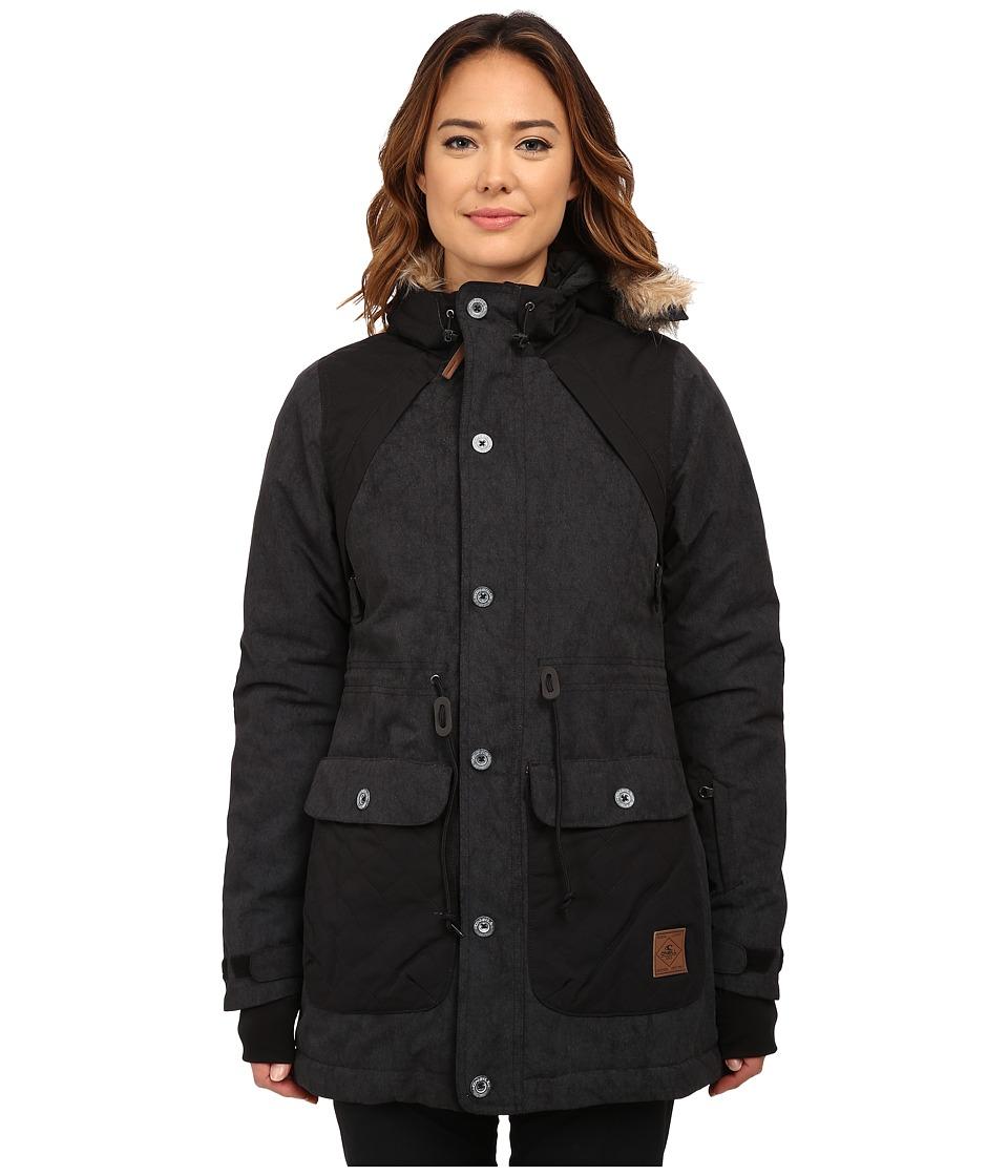 O'Neill - Glaze Jacket (Black Out) Women's Coat