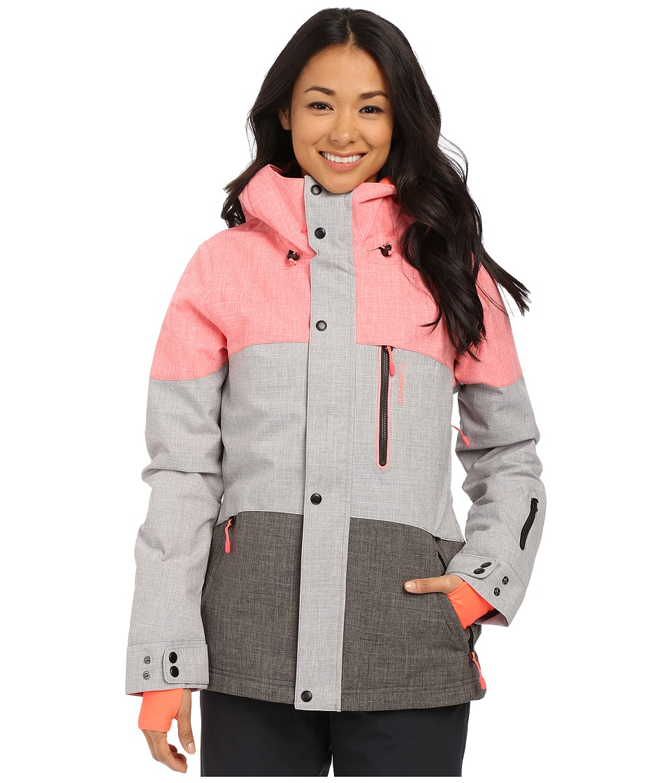 O'Neill - Coral Jacket (Silver Melee) Women's Coat