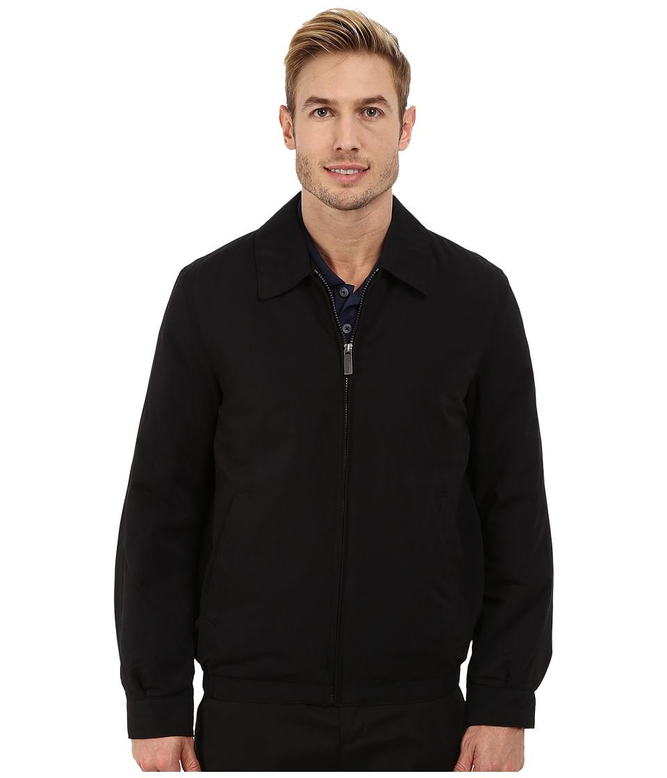 Perry Ellis - Microfiber Golf Jacket (Black) Men's Coat
