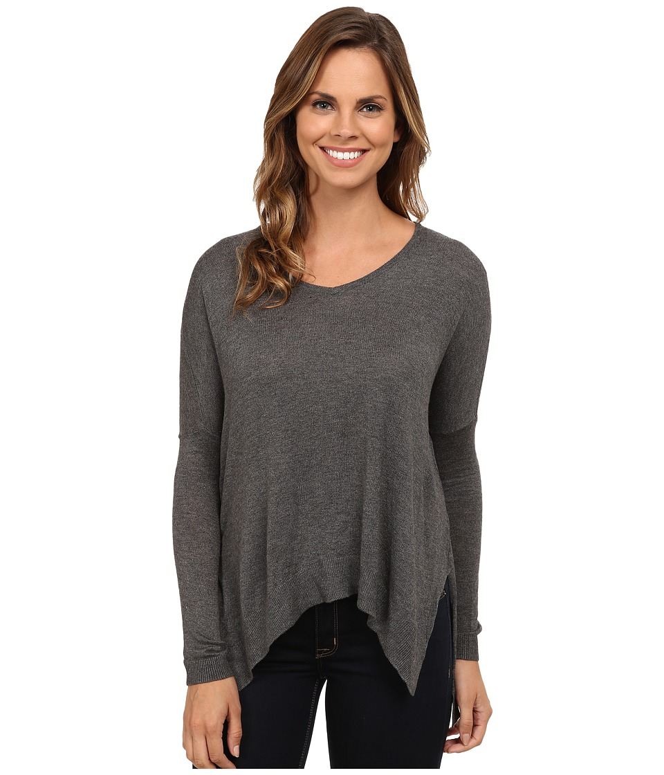 Brigitte Bailey - Compassionate Knit Sweater (Heather Grey) Women's Sweater