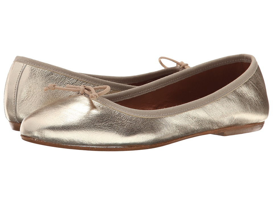 Summit by White Mountain - Kendall (Gold Metallic Leather) Women's Slip on Shoes