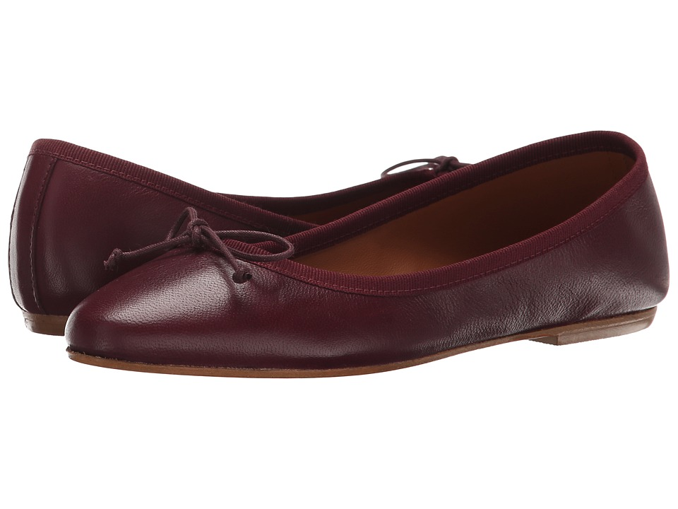 Summit by White Mountain - Kendall (Burgundy Leather) Women's Slip on Shoes