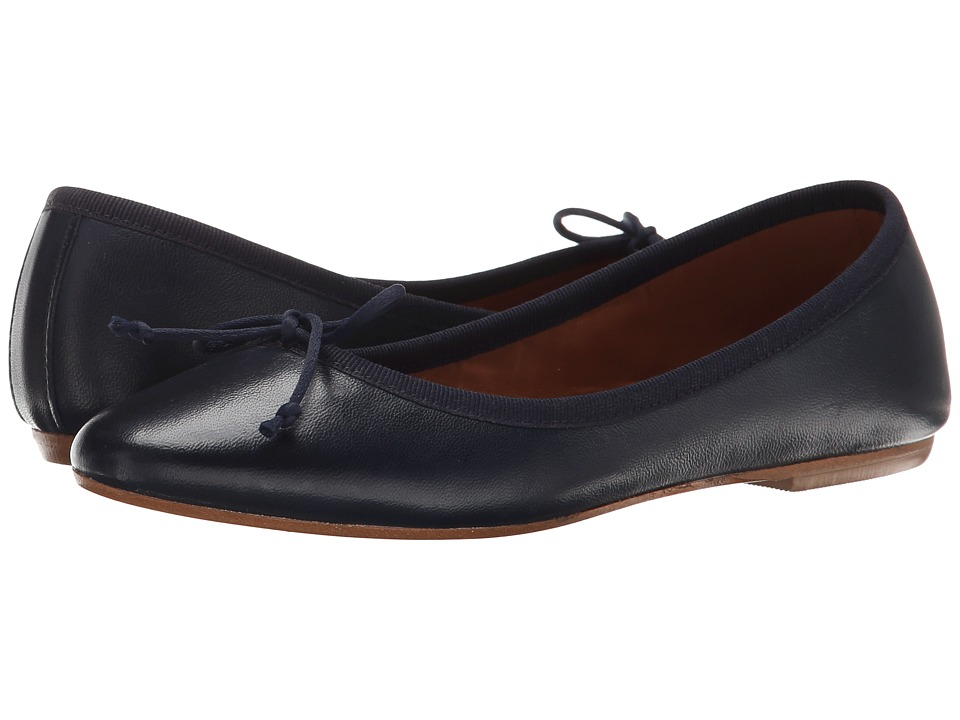 Summit by White Mountain - Kendall (Navy Leather) Women's Slip on Shoes