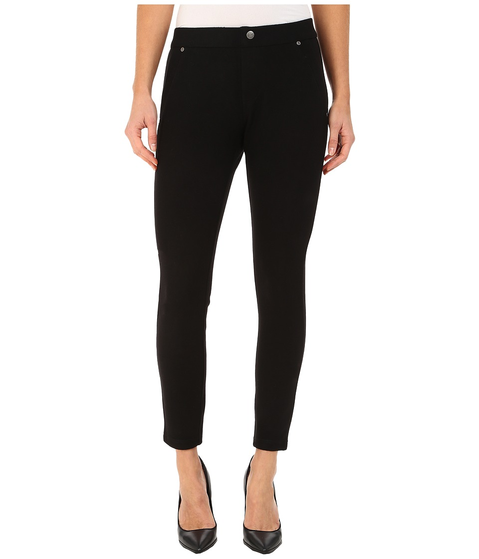 HUE - Wooly Brushed Leggings (Black) Women's Casual Pants