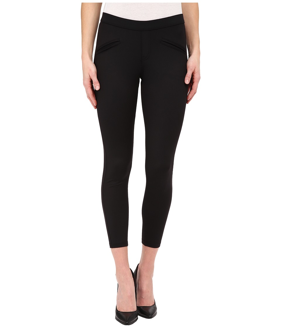 HUE - Satin Jersey Skimmer (Black) Women's Casual Pants
