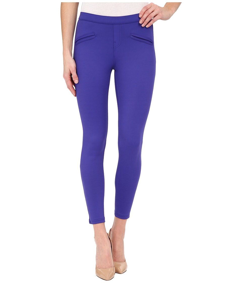 HUE - Satin Jersey Skimmer (Purple Reign) Women's Casual Pants