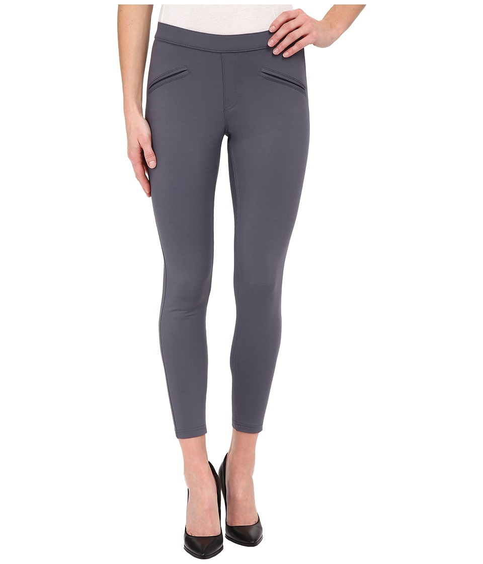 HUE - Satin Jersey Skimmer (Thunder) Women's Casual Pants
