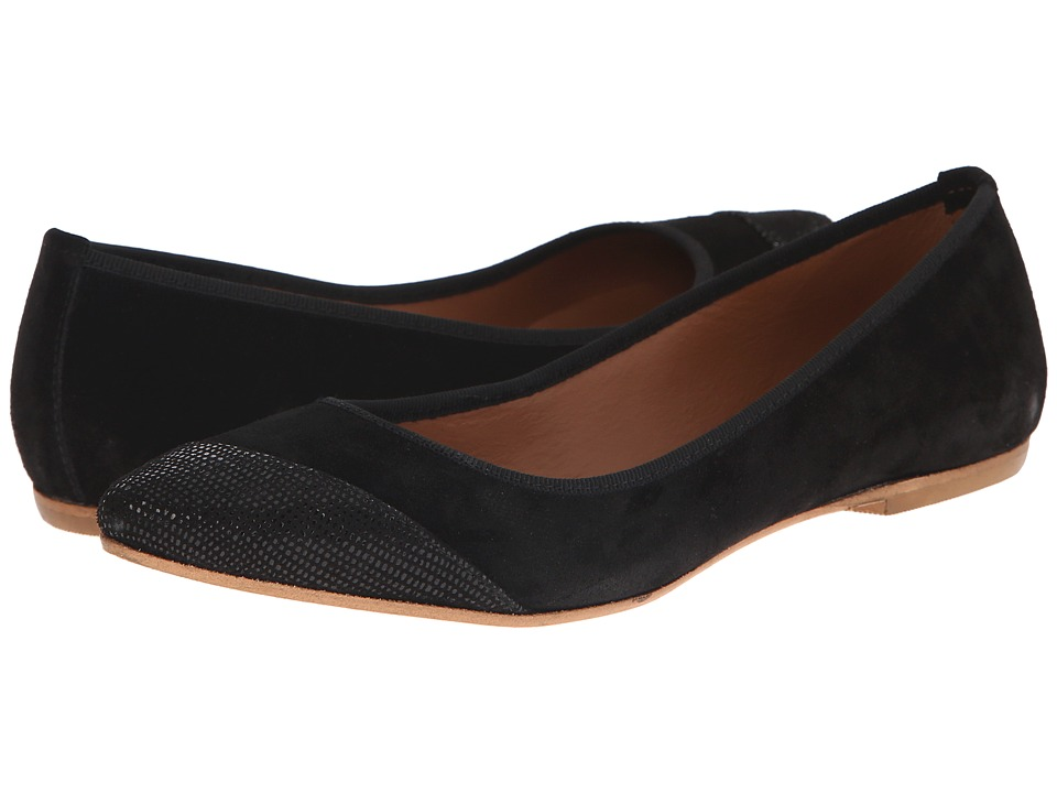 Summit White Mountain - Kylie (Black Suede) Women's Slip on Shoes