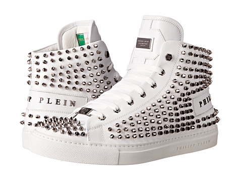 Philipp Plein - Studded High Top (White) Men
