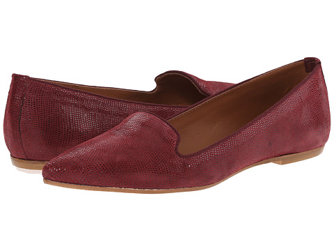 Summit White Mountain - Krystal (Burgundy Exotic Leather) Women's Slip on Shoes
