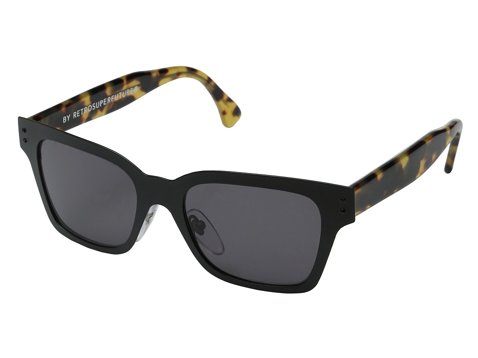 Super - America Intellect (Black/Tortoise) Fashion Sunglasses