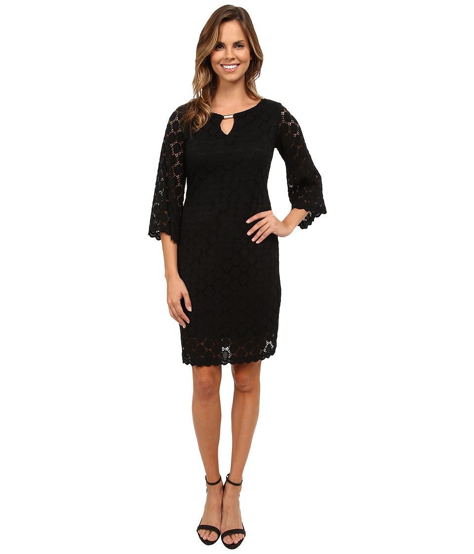 rsvp - Belle Lace Dress (Black) Women's Dress