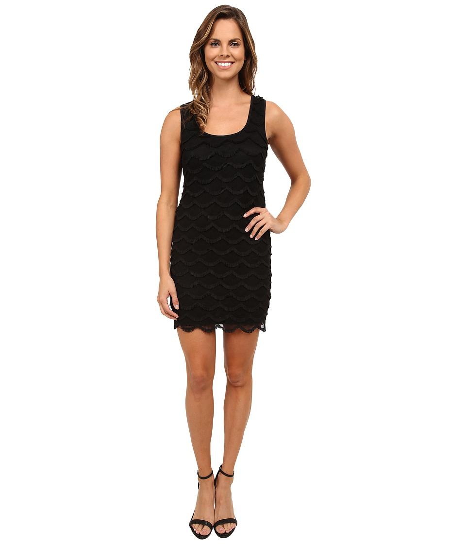 rsvp - Playful Fringe Dress (Black) Women's Dress