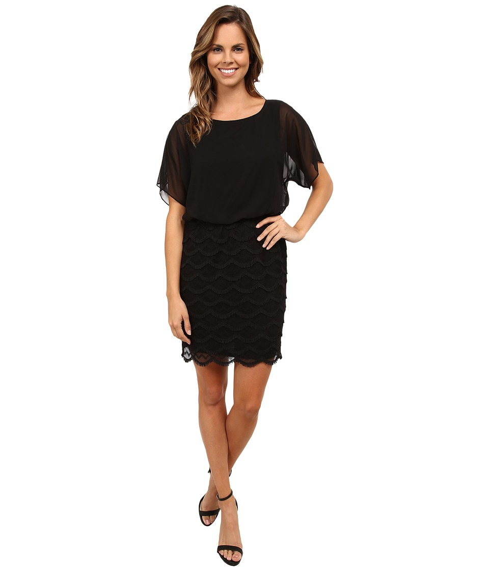 rsvp - BFF Blouson Dress (Black) Women's Dress