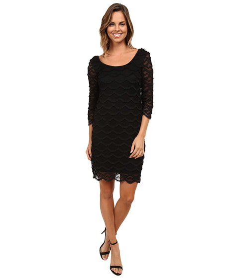 rsvp - Bright and Cheerful Dress (Black) Women