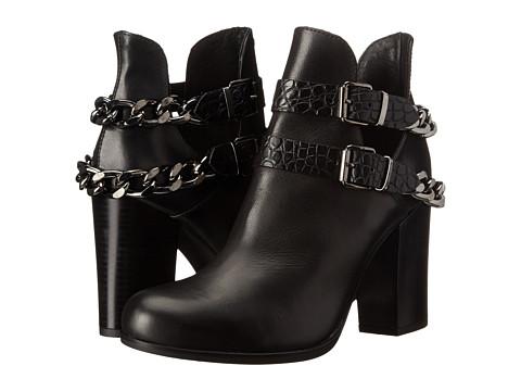 Summit White Mountain - Abelina (Black Leather) Women's Boots