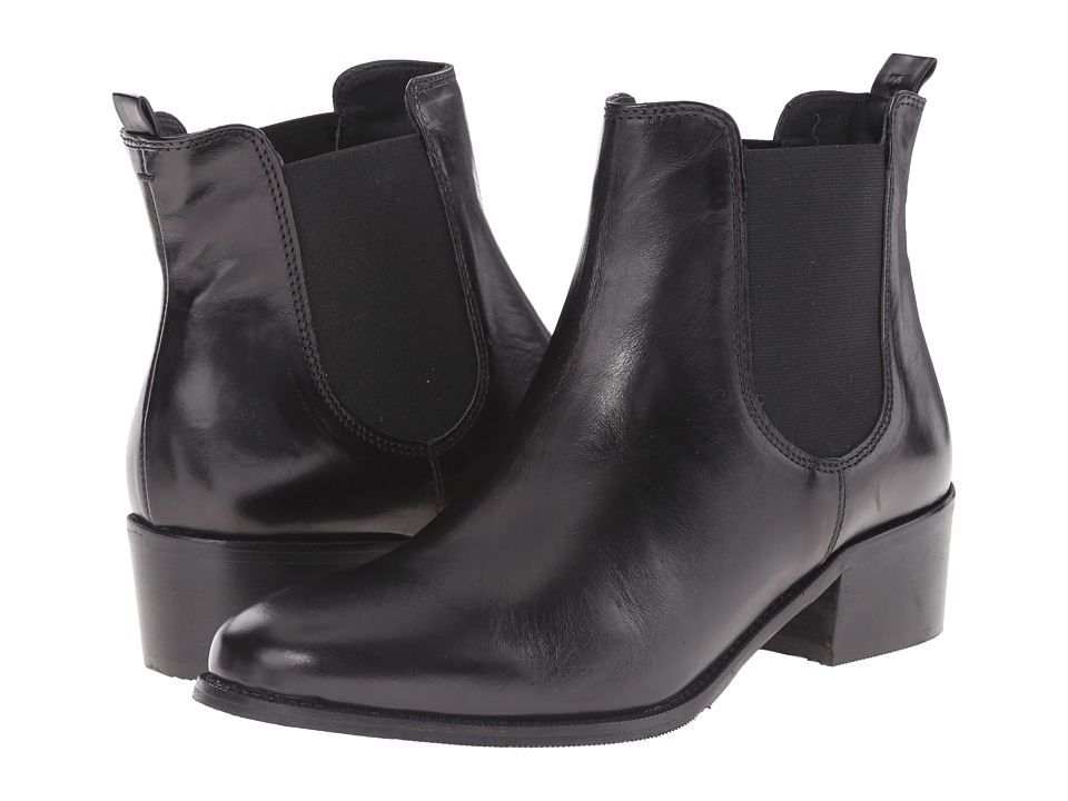 Summit White Mountain - Aletta (Black Leather) Women's Boots
