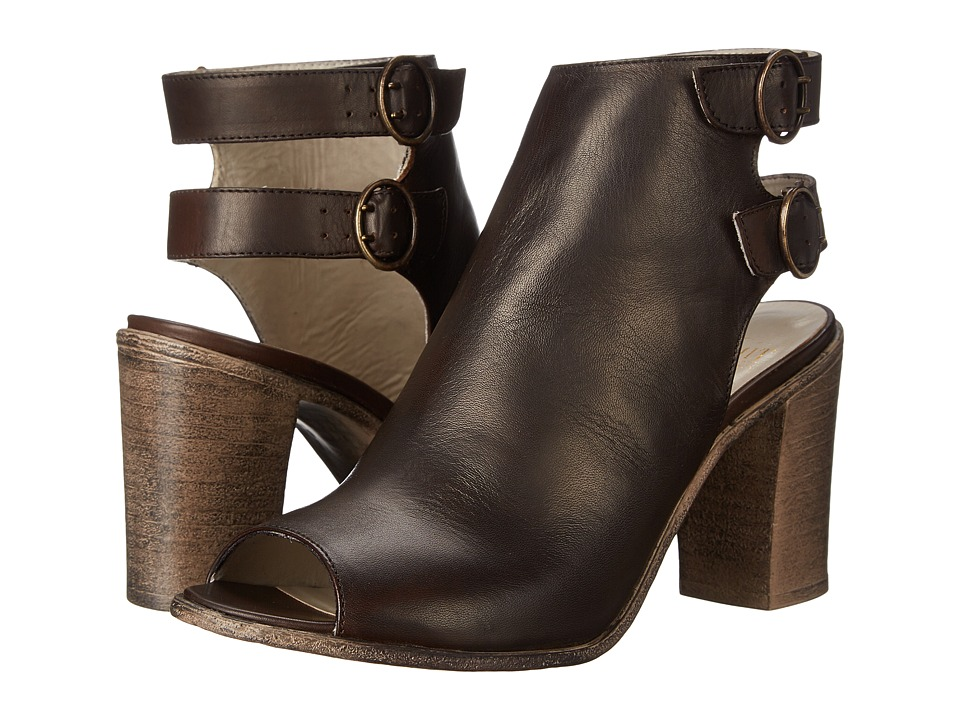 Summit White Mountain - Elmira (Dark Brown Leather) High Heels