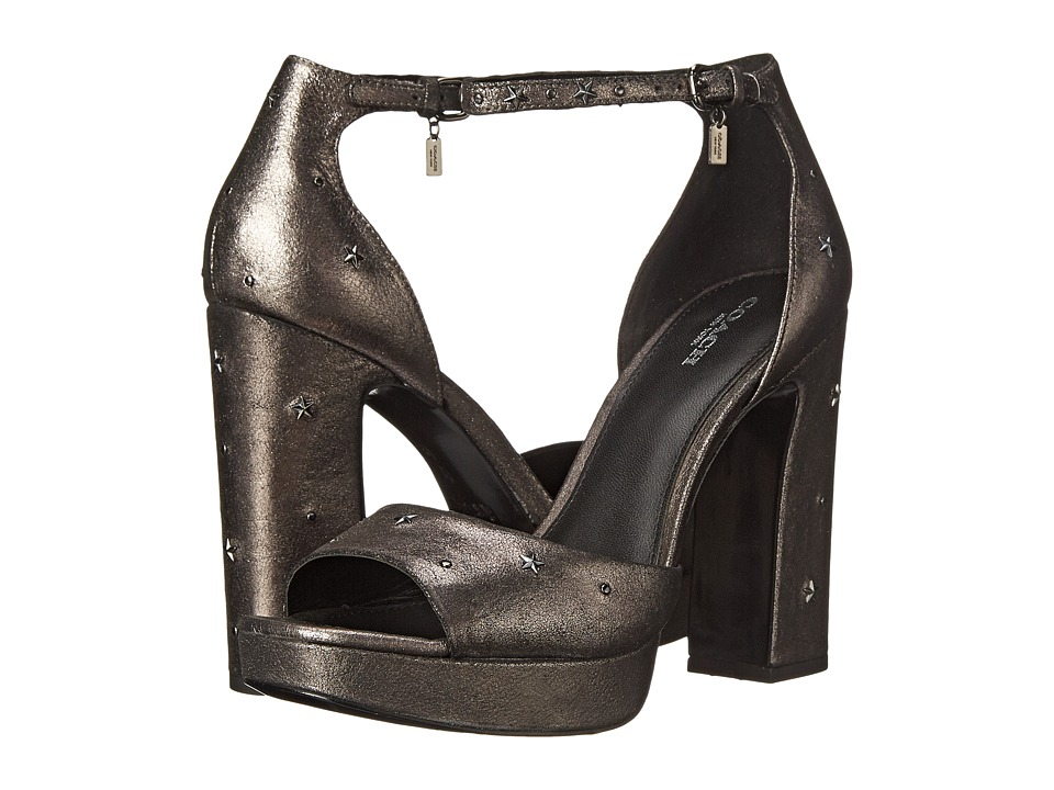 COACH - Margharita (Gunmetal Star Metallic) High Heels