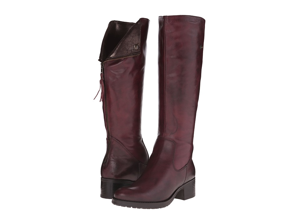 Summit White Mountain - Cailyn (Burgundy Leather) Women's Boots