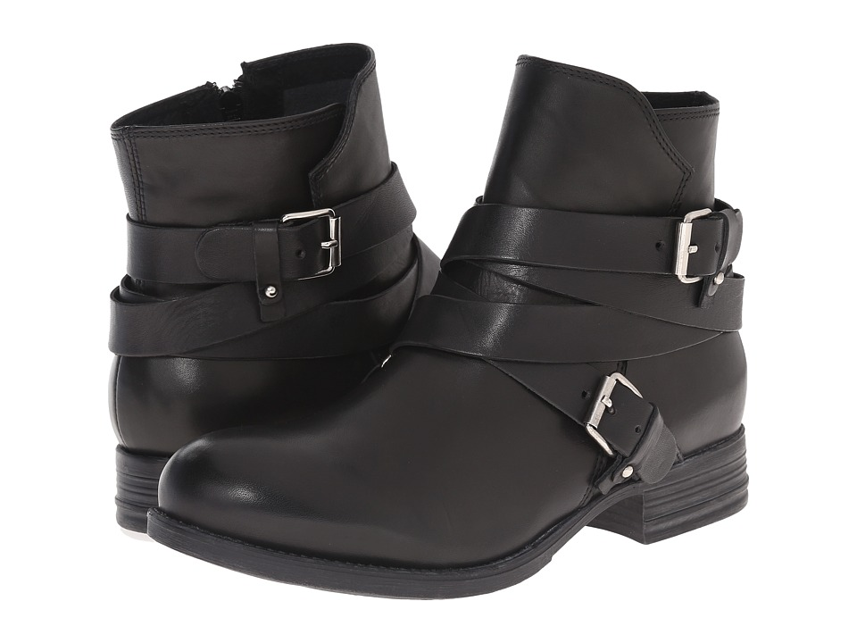 Summit White Mountain - Nerida (Black Leather) Women's Boots