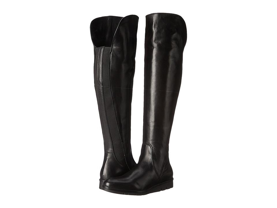 Summit White Mountain - Warren (Black Leather) Women's Boots