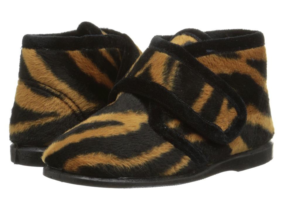 Cienta Kids Shoes - 10809 (Infant/Toddler/Little Kid) (Tiger Print) Girl's Shoes