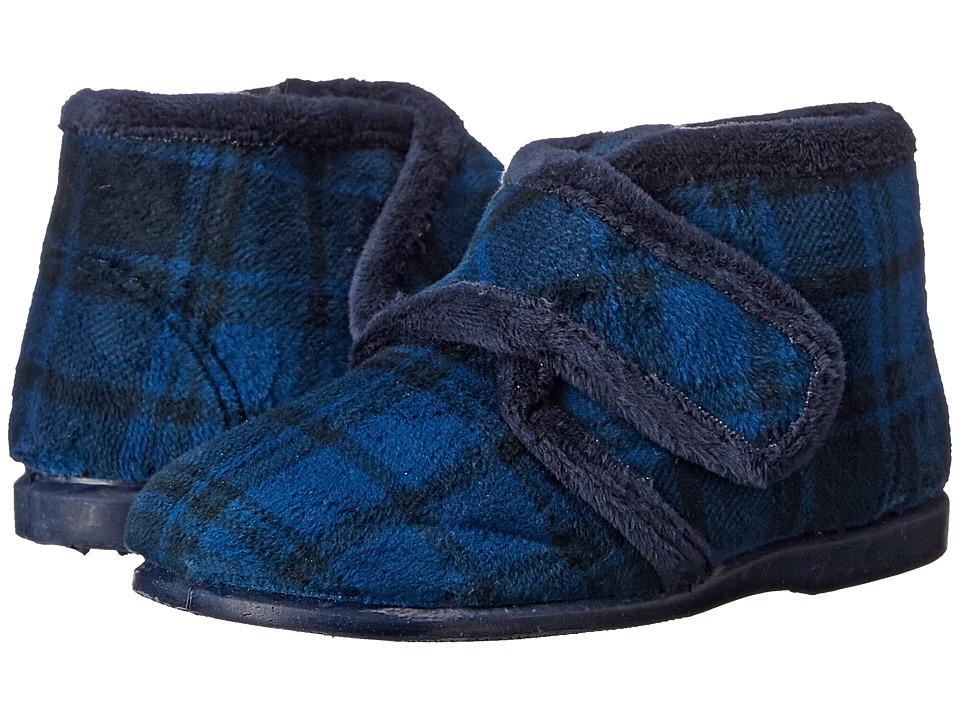 Cienta Kids Shoes - 10800 (Infant/Toddler/Little Kid) (Blue Plaid) Girl's Shoes