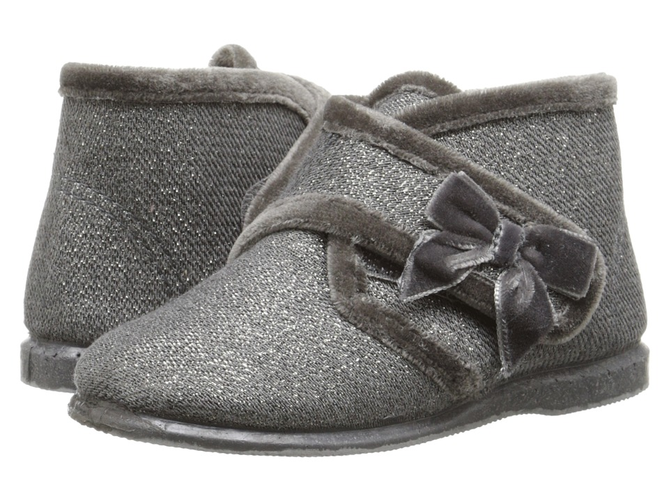 Cienta Kids Shoes - 10801 (Infant/Toddler/Little Kid) (Grey Glitter) Girl's Shoes