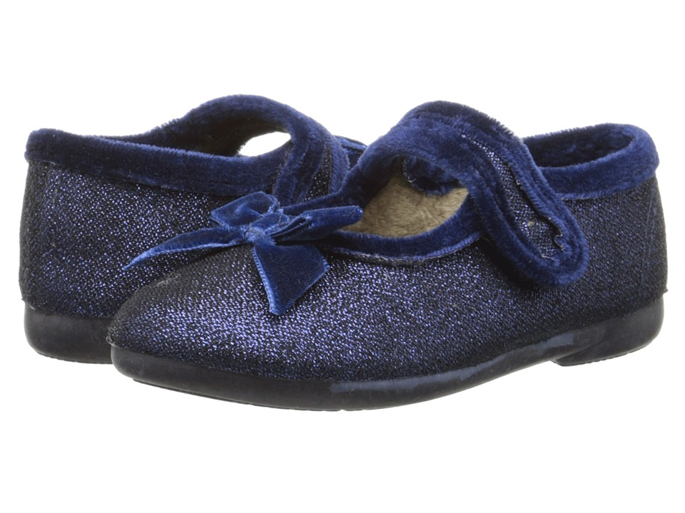Cienta Kids Shoes - 50001 (Toddler/Little Kid/Big Kid) (Navy Glitter) Girl's Shoes