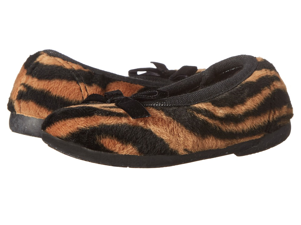 Cienta Kids Shoes - 18603 (Toddler/Little Kid/Big Kid) (Tiger Velvet) Girl's Shoes