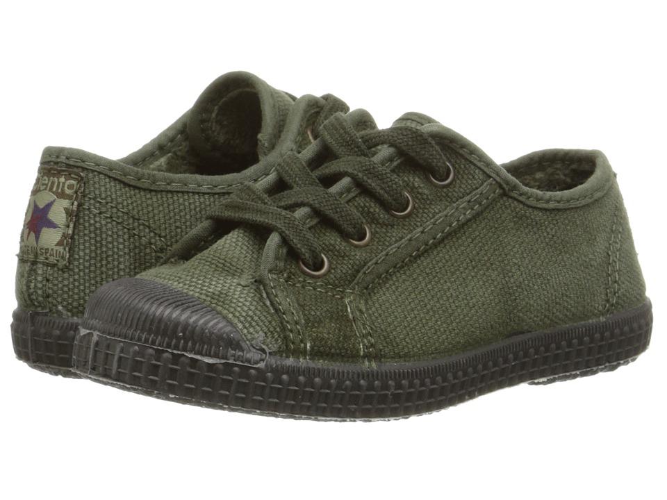 Cienta Kids Shoes - 97477 (Toddler/Little Kid/Big Kid) (Olive) Kid's Shoes
