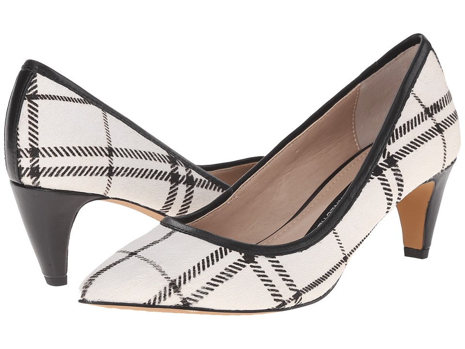 French Connection - Kornelia (Black/White) Women's Shoes