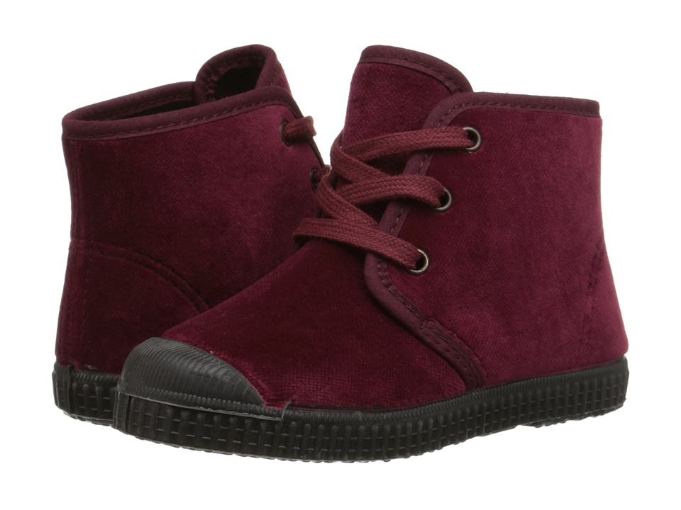 Cienta Kids Shoes - 96207 (Toddler/Little Kid/Big Kid) (Ruby Velvet) Girl's Shoes