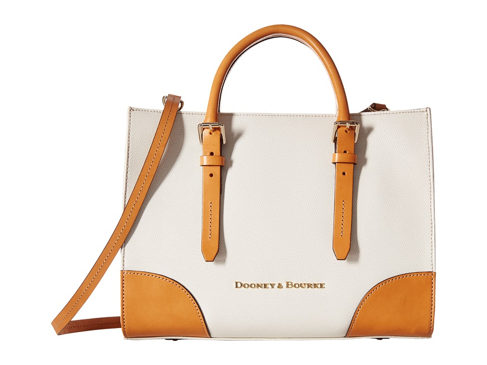 Dooney & Bourke - Claremont Janine (Bone/Butterscotch Trim) Handbags