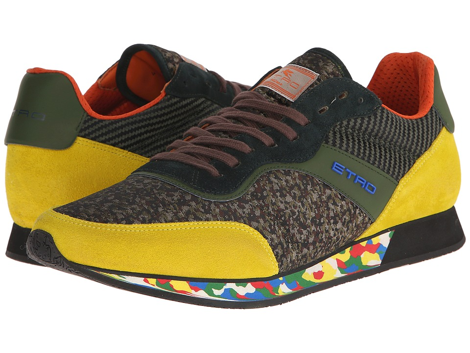 Etro - Runner Sneaker (Yellow Multi) Men