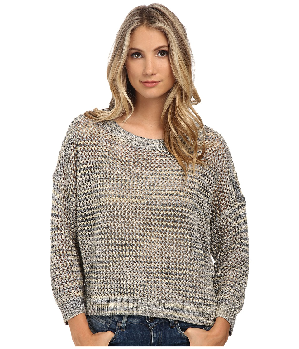 French Connection - Shimmer Mesh Knits Sweater 78EAH (Multi Mel Lurex) Women