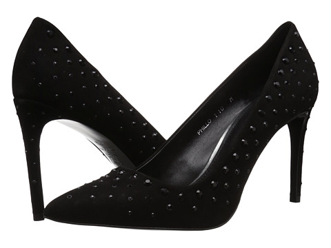 Donald J Pliner - Phillo SP (Black Suede) High Heels