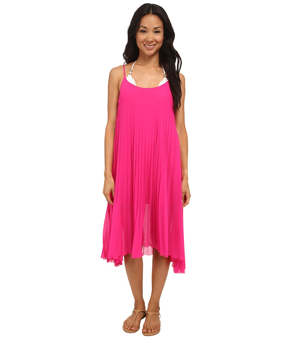 Bleu Rod Beattie - Over The Edge A-Line Pleated Dress (Razzle Dazzle) Women's Dress