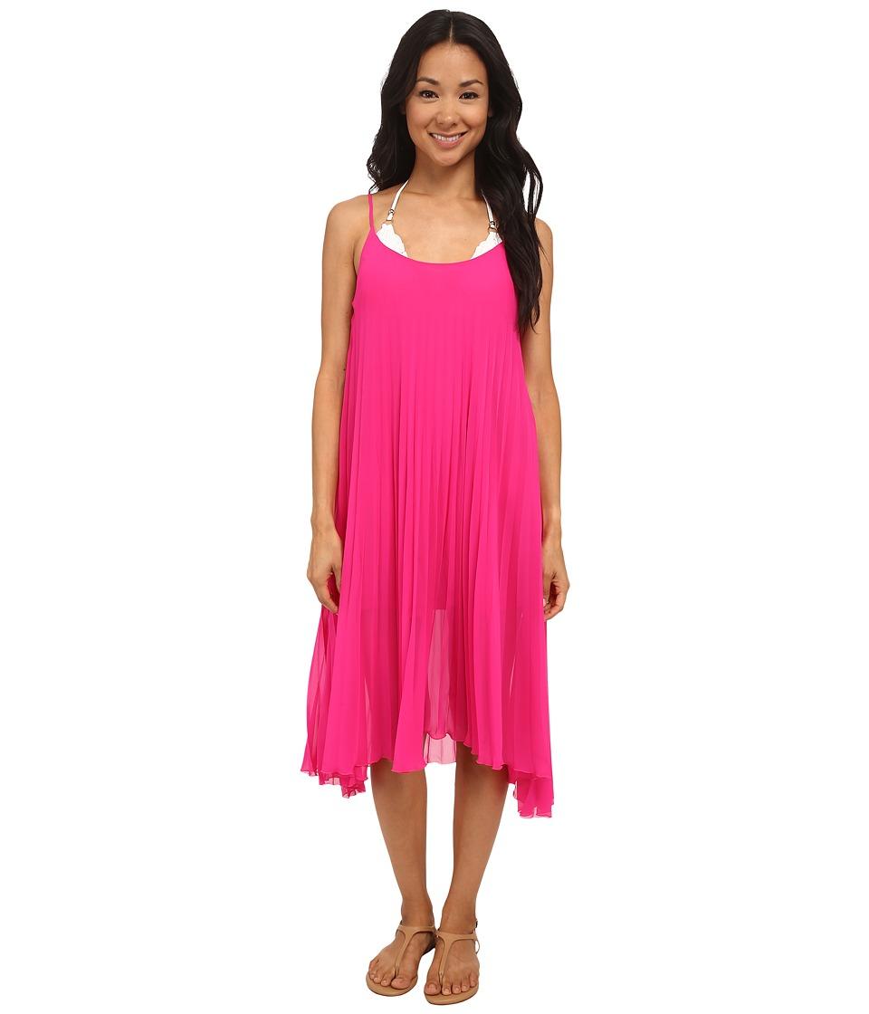 Bleu Rod Beattie - Over The Edge A-Line Pleated Dress (Razzle Dazzle) Women's Dress