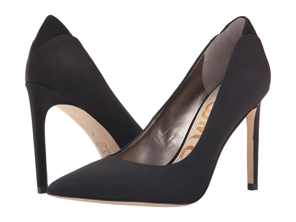 Sam Edelman - Dea (Black Crepe) Women's Shoes