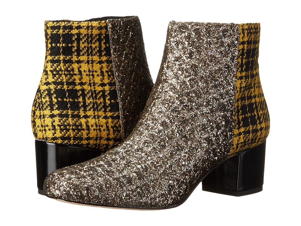 Sam Edelman - Edith (Gold/Amber Black Plaid) Women
