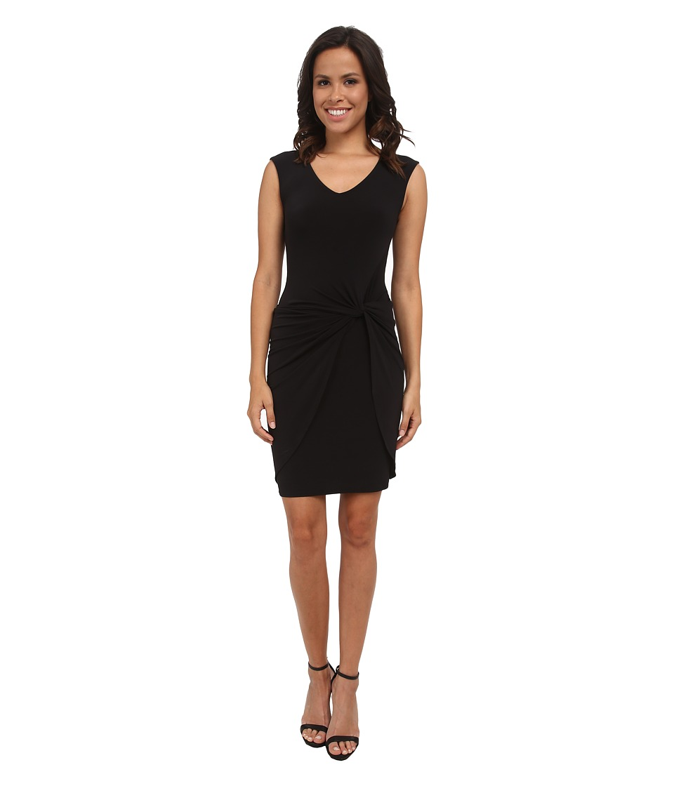 Velvet by Graham & Spencer - Lake03 Stretch Jersey Dress (Black) Women's Dress
