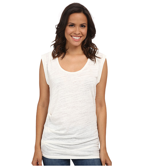 Velvet by Graham & Spencer - Tyrina03 Sleeveless Soft Knit Top (Off White) Women