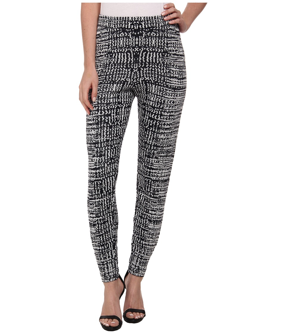 BCBGMAXAZRIA - Cameron Sweater Knit Pant (Dark Navy Combo) Women's Clothing