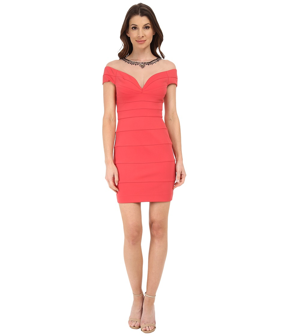 BCBGMAXAZRIA Piper Short Dress (Poppy) Women