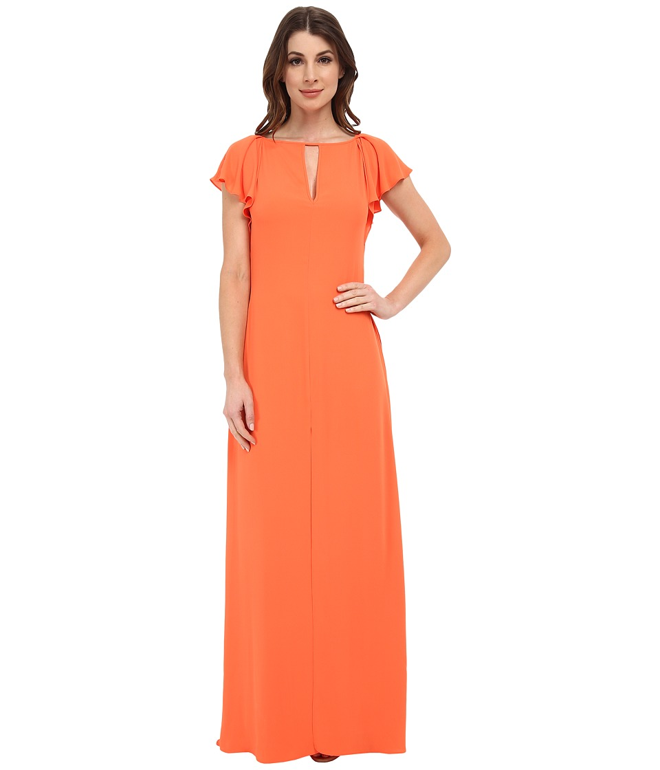 BCBGMAXAZRIA - Julianne Maxi Dress (Vermillion) Women's Dress