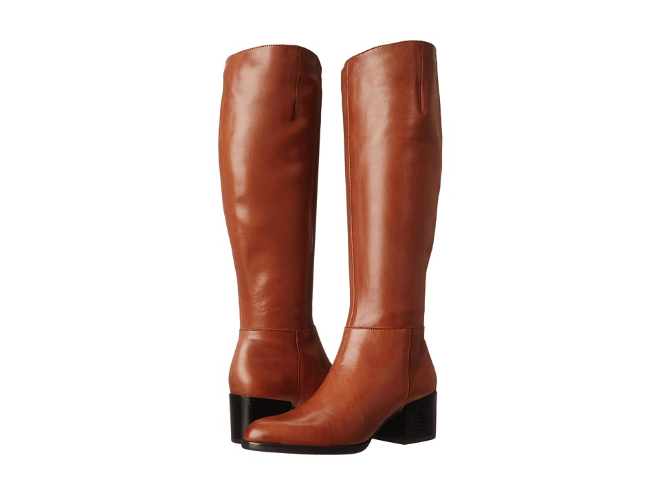 Sam Edelman - Joelle (Saddle Tan) Women's Zip Boots