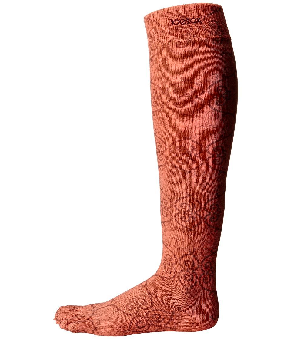 toesox - Casual Full Toe Knee High (Mandarin) Women's Knee High Socks Shoes