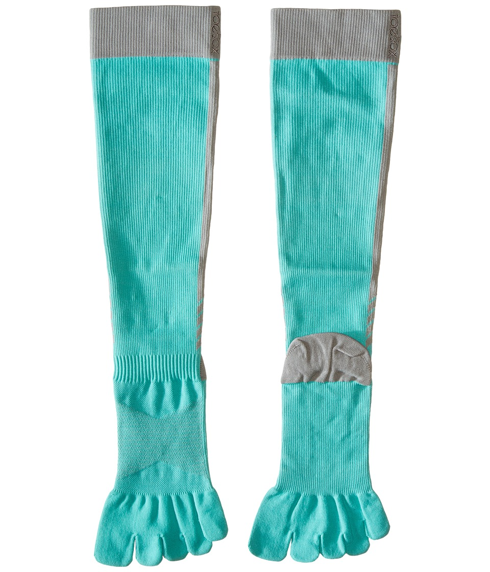 toesox - Sport Compression Knee High (Ice 4AM) Women's Knee High Socks Shoes